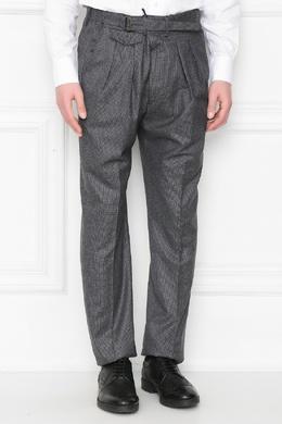 Серые шерстяные брюки Lardini 2453175108