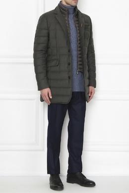 Шерстяная куртка цвета хаки Moorer 3117175078