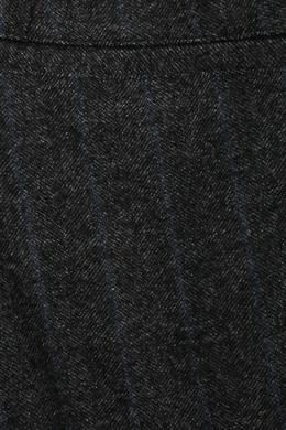 Шерстяные брюки с поясом на кулиске Lardini 2453175115