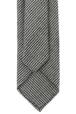 Серый шерстяной галстук Lardini 2453175517