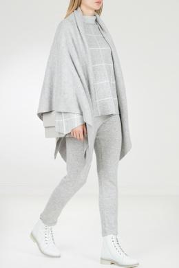 Светло-серые трикотажные брюки с завышенной талией Max & Moi 2919174593
