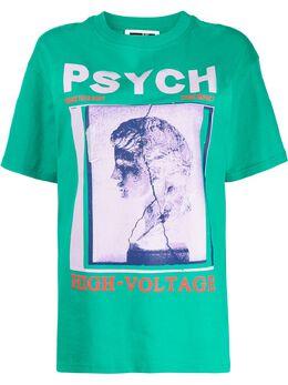 MCQ by Alexander McQueen футболка с графичным принтом 583305ROT10
