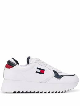 Tommy Jeans logo patch sneakers EN0EN00720