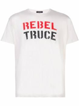 R13 футболка с надписью R13W361904