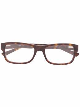 Ray Ban очки в квадратной оправе черепаховой расцветки RB5268