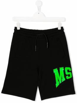 MSGM Kids спортивные шорты с логотипом 022087