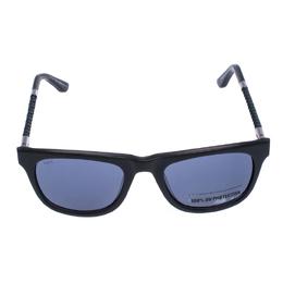Tod's Grey Braided Temple TO 182 Wayfarer Sunglasses Tod's