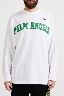 Свободный джемпер из хлопка Palm Angels 1864175853