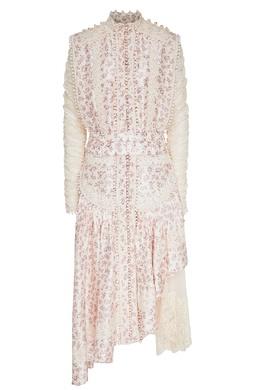 Платье с цветочным принтом и кружевом Sabotage Zimmermann 1411175744