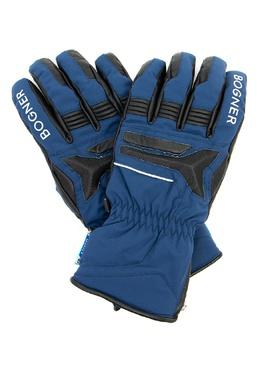 Синие лыжные перчатки с логотипами Bogner 1936176133