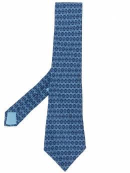 Hermès Pre-Owned галстук с узором HER150AV