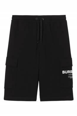 Черные шорты с карманами Burberry 10167936