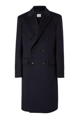 Двубортное пальто с карманами Burberry 10168978