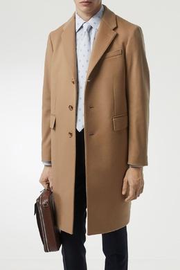Бежевое пальто Burberry 10168610