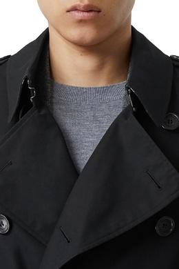Короткий тренч черного цвета Burberry 10168976