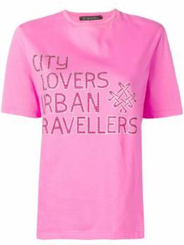 Mr & Mrs Italy декорированная футболка XTS0104