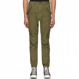 R13 Khaki Military Cargo Pants R13M0426-07
