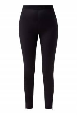 Черные брюки прилегающего кроя Balmain 88177599