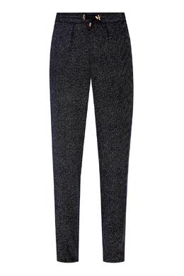 Черные брюки с люрексом Balmain 88177597