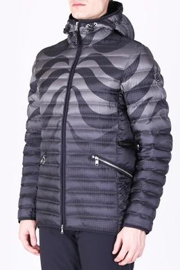 Серая стеганая куртка с узором Bogner 1936177257