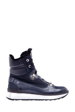 Темно-синие комбинированные ботинки на молнии Bogner 1936177229