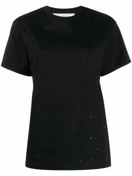 Victoria, Victoria Beckham футболка Victoria со стразами 2120JTS000685A