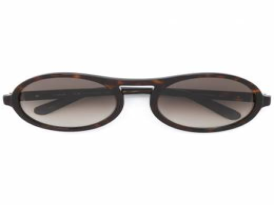 Chloe Eyewear солнцезащитные очки в круглой черепаховой оправе CE715S