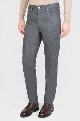 Серые брюки в повседневном стиле Brunello Cucinelli 1675179228