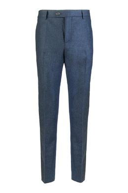 Серо–синие брюки со стрелками Brunello Cucinelli 1675179071