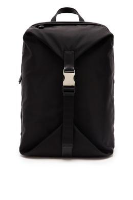 Черный рюкзак из текстиля Prada 40179741
