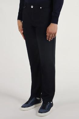 Черные брюки на притачном поясе Brunello Cucinelli 1675179839