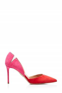 Двухцветные туфли с прозрачными вставками Sharp 105 Aquazzura 975180945