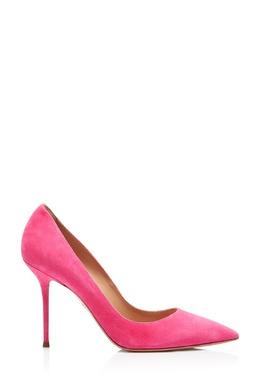 Розовые замшевые туфли Purist 95 Aquazzura 975180930