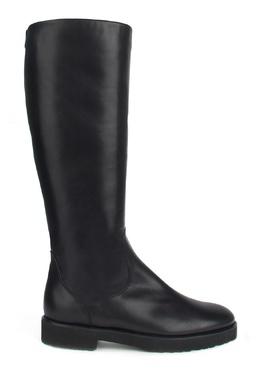 Черные сапоги на плоской подошве Moreschi 2315180416