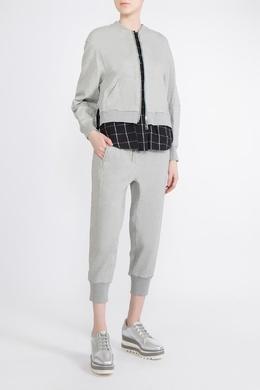 Серый костюм с укороченными брюками 3.1 Phillip Lim 365180389