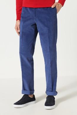 Синие брюки из вельвета Pal Zileri Lab 3013181335