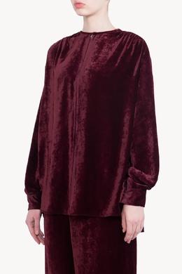 Бордовый бархатный костюм Stella McCartney 193180971