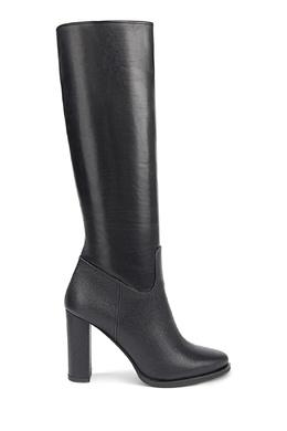 Черные кожаные сапоги Moreschi 2315181088