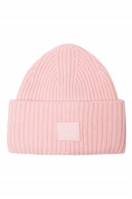 Розовая шапка Pansy N Face Acne Studios 876171478