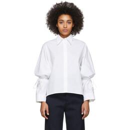 Mm6 Maison Margiela White String Shirt S52DL0125 S47294