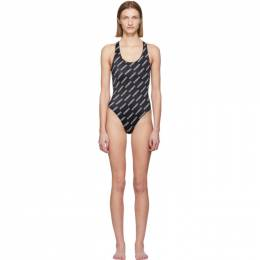 Vetements Black Logo Swimsuit SS20TR345