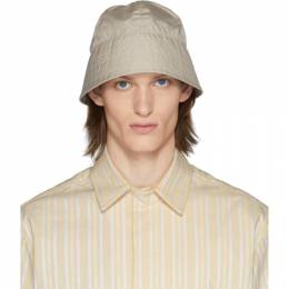 1017 Alyx 9Sm Beige Browns Edition Narrow Buckle Bucket Hat AAUHA0029FA01BEG0003