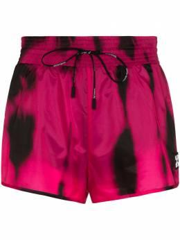 Off-White high waist tie dye shorts OWCB020R20D530882800