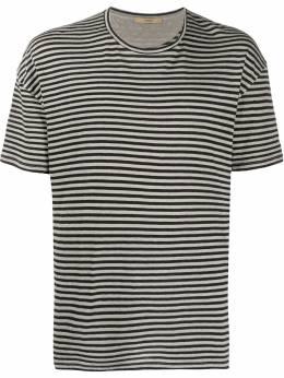 Roberto Collina полосатая футболка свободного кроя RC68021