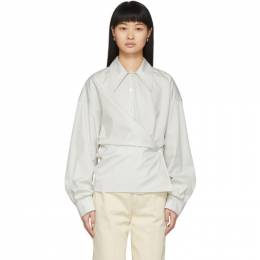 Lemaire Off-White New Twisted Shirt W 201 SH254 LF353