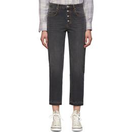 Isabel Marant Etoile Black Garance Jeans 20PPA1543-20P016E