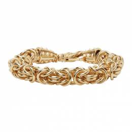 Emanuele Bicocchi Gold Byzantine Chain Bracelet BYB1G