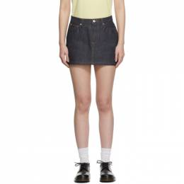 A.P.C. Indigo Denim Miniskirt CODBS-F06093