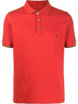 Fay рубашка-поло с вышитым логотипом NPMB240134SITOR801