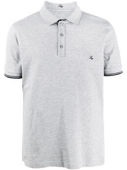 Fay рубашка-поло с вышитым логотипом NPMB240134SITOB208